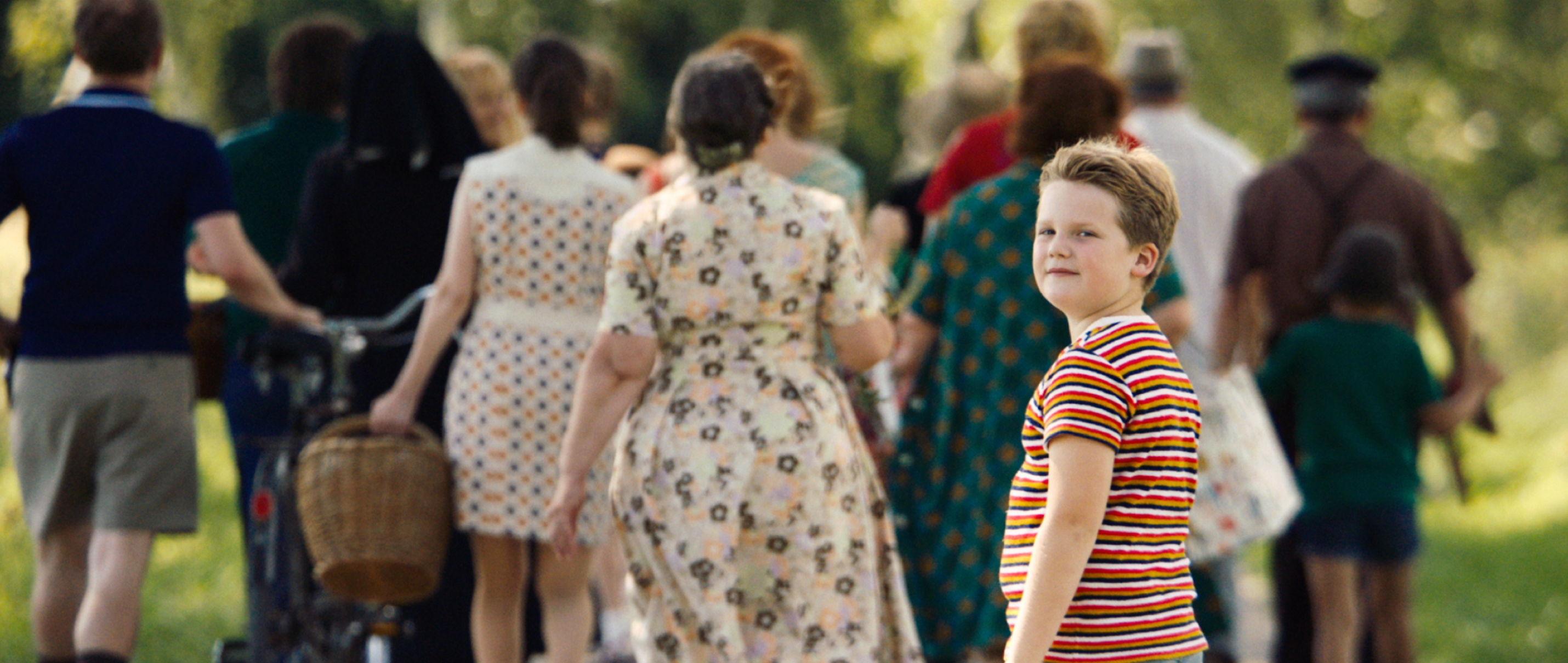 Der Junge muss an die frische Luft - Julius Weckauf spielt Hape Kerkeling - Regie Caroline Link - Kamera Judith Kaufmann