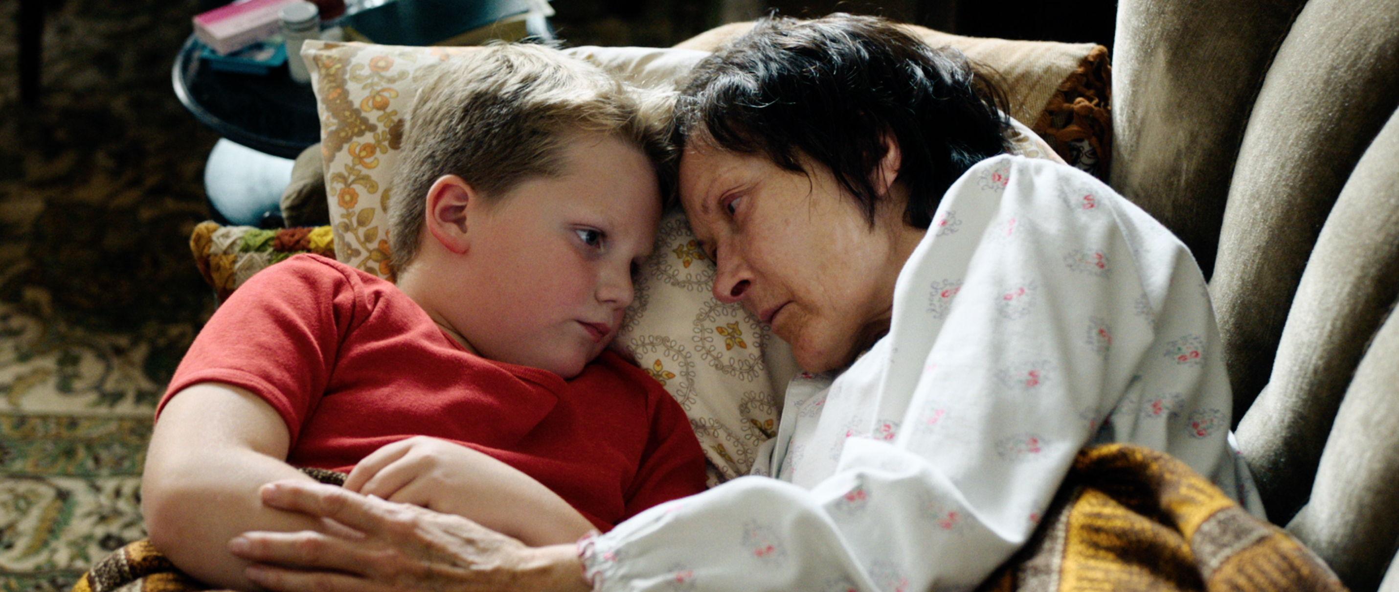 Der Junge muss an die frische Luft - all about me - klein Hape mit seiner Oma Änne - Regie Caroline Link - Kamera Judith Kaufmann