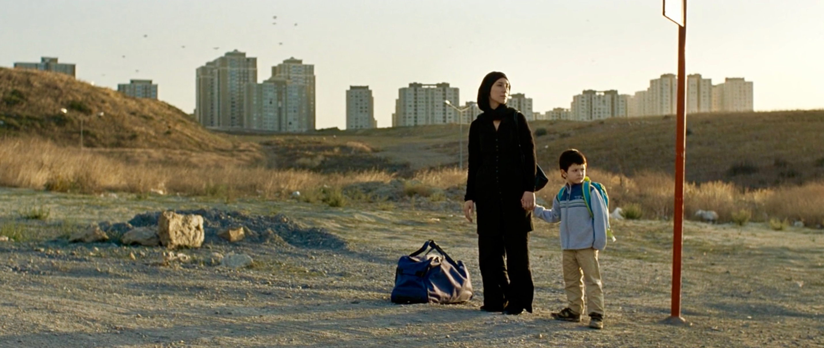Die Fremde - When We Leave - Umay mit Cem auf der Flucht - Regie: Feo Aladag - Kamera Judith Kaufmann