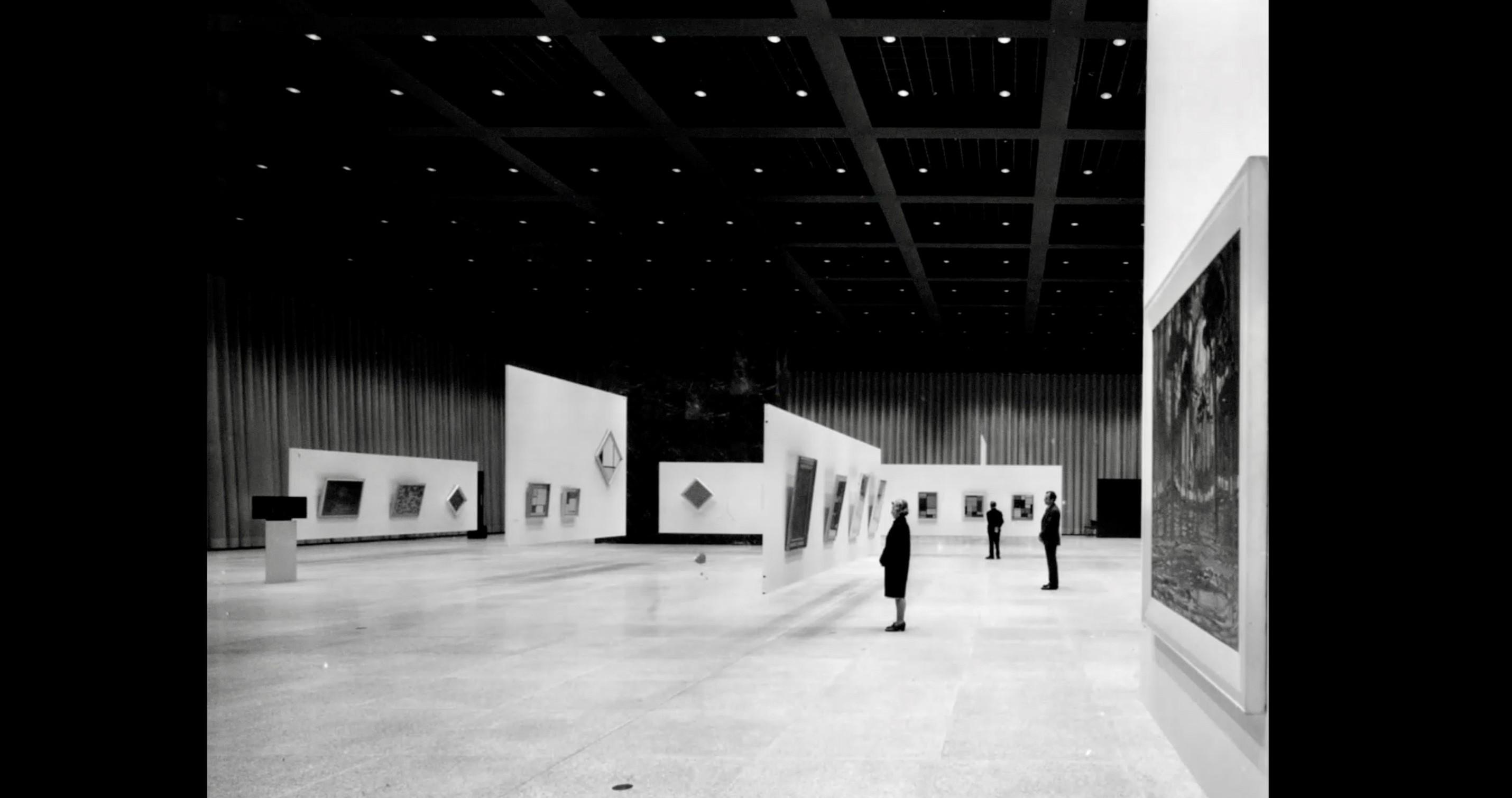Ausstellungshalle - Die neue Nationalgalerie - ein Dokumentarfilm von Ina Weisse - Kamera Judith Kaufmann