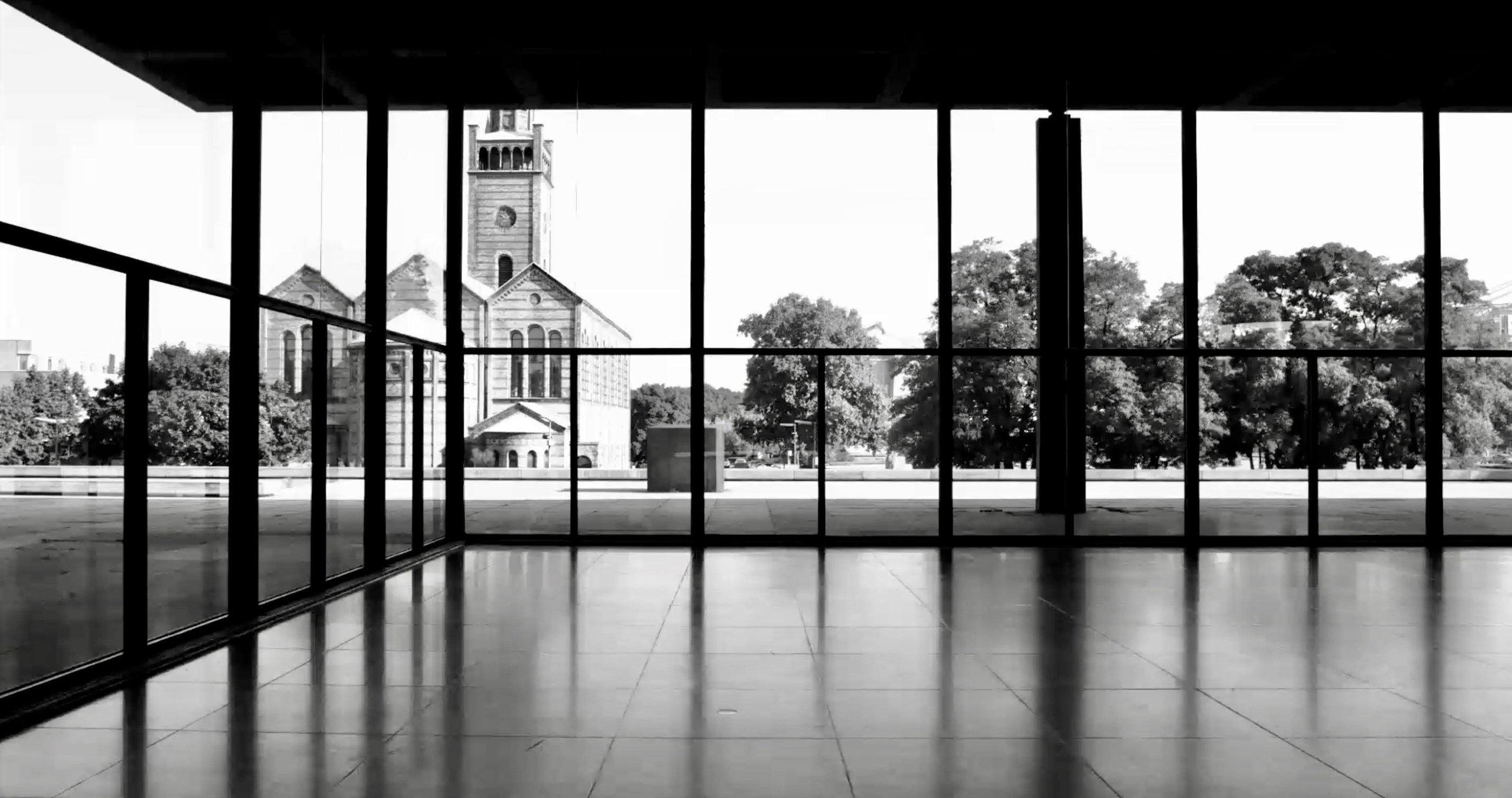 Perspektive von innen nach außen - die neue Nationalgalerie - Regie Ina Weisse - Kamera Judith Kaufmann