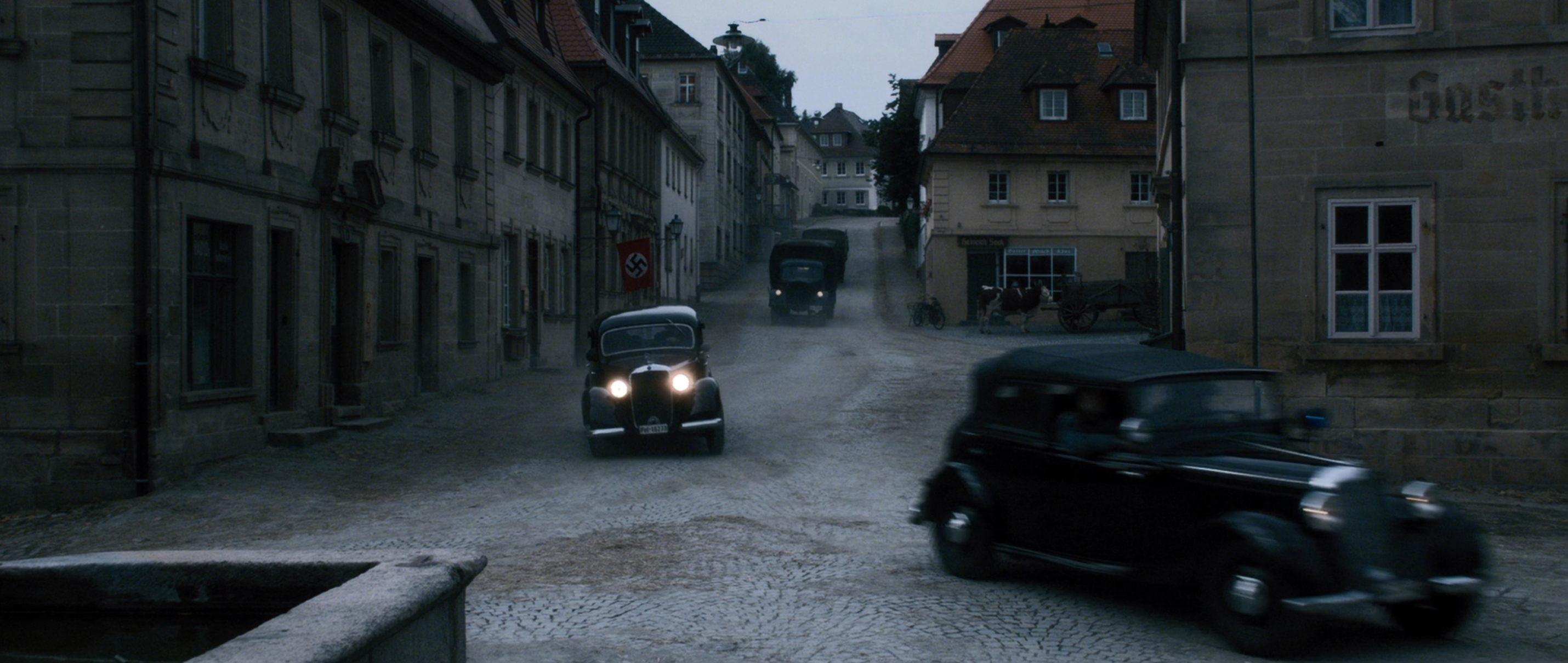 Elser - 13 Minutes - Fahrzeuge der gefürchteten Gestapo - Regie Oliver Hirschbiegel - Kamera Judith Kaufmann