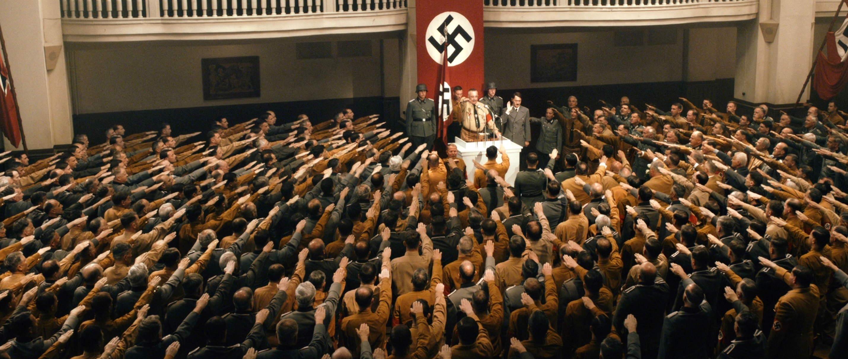 Elser - 13 Minutes - Hitler hält eine Rede - Regie Oliver Hirschbiegel - Kamera Judith Kaufmann