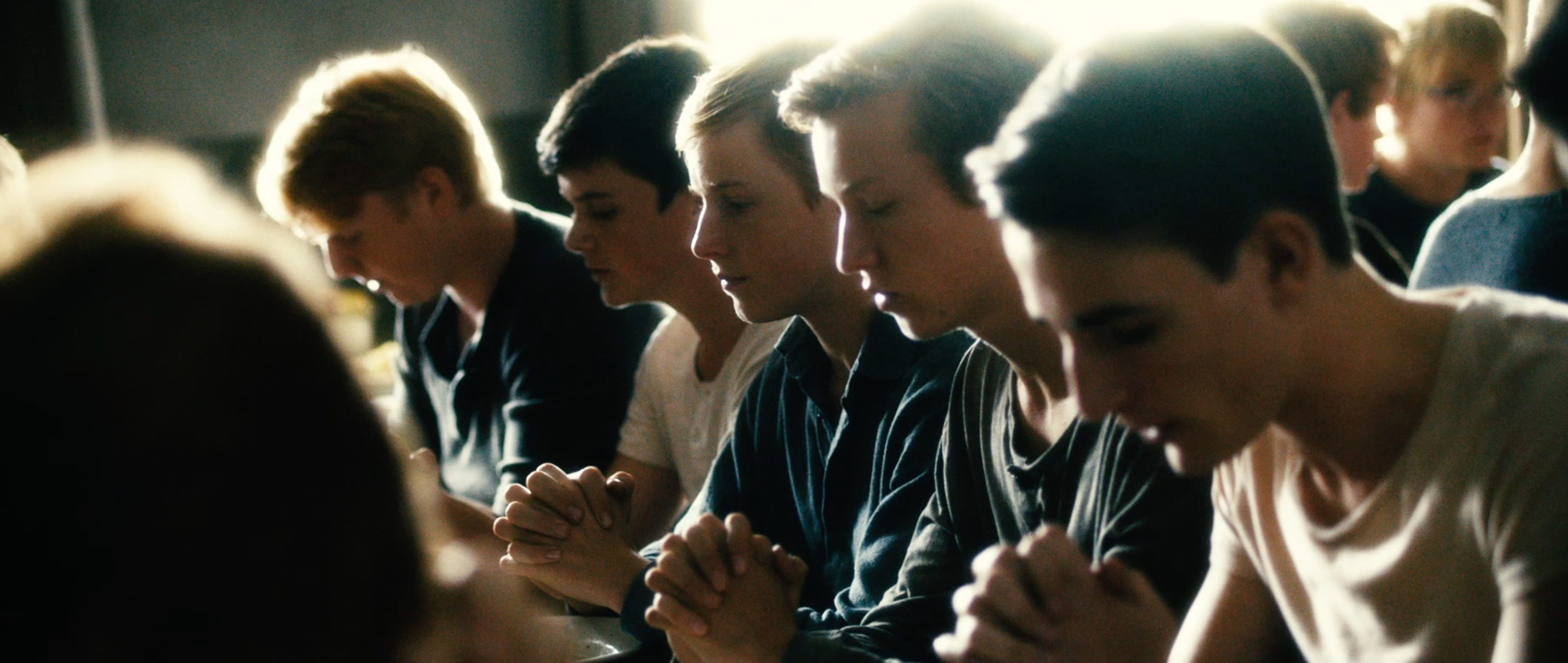 Freistatt Sanctuary - beten vor dem Essen - Regie Marc Brummund - Kamera Judith Kaufmann