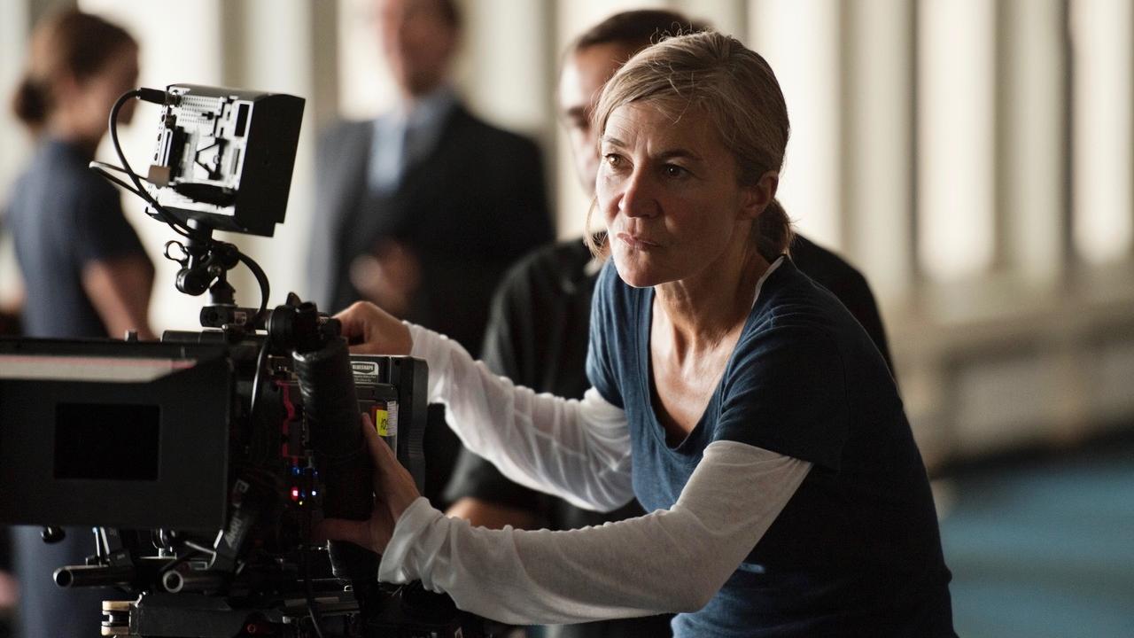 Kamerafrau Judith Kaufmann am Set