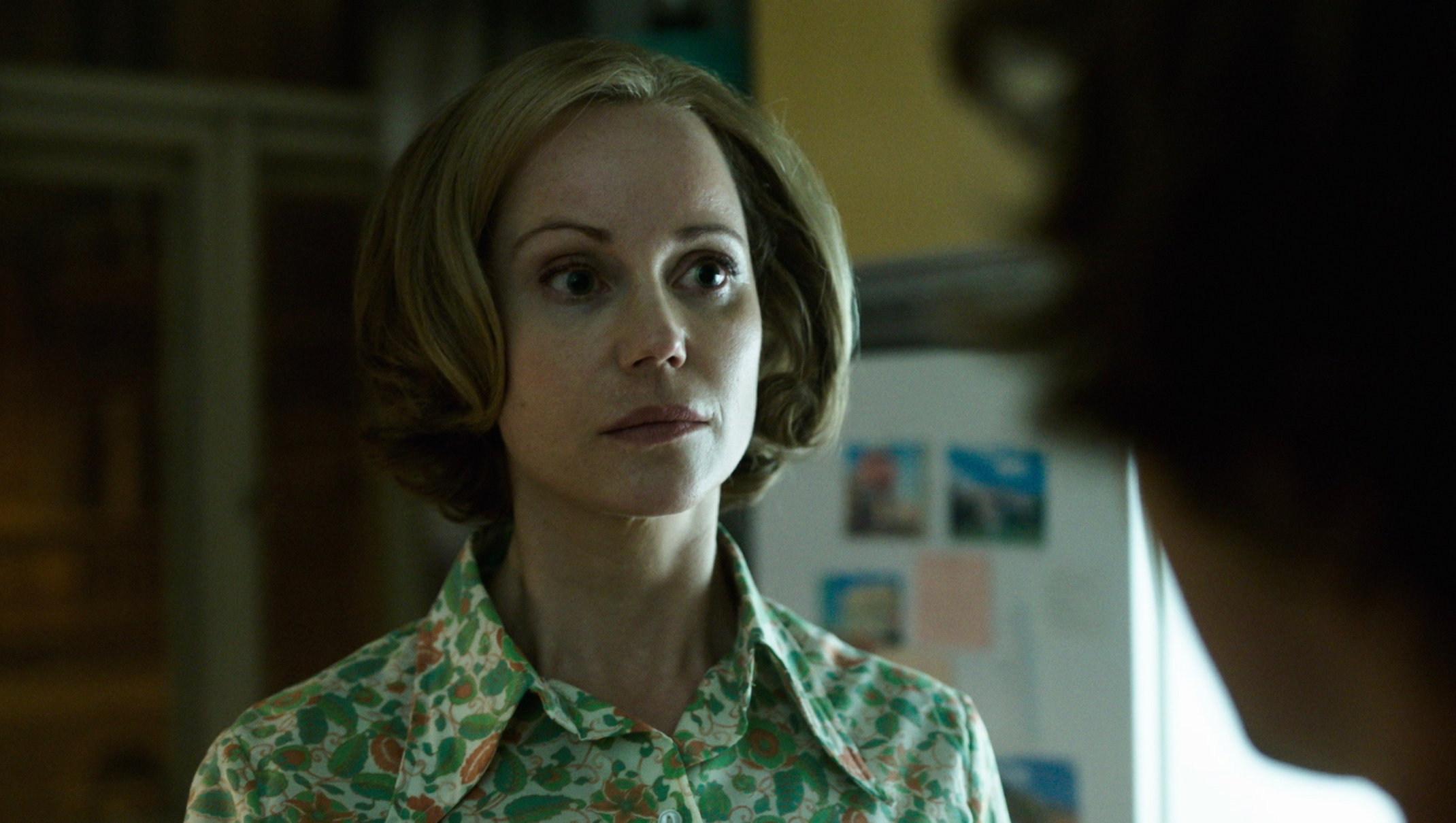 Der Gleiche Himmel - Sofia Helin als Lauren Faber - Regie Oliver Hirschbiegel - Kamera Judith Kaufmann.