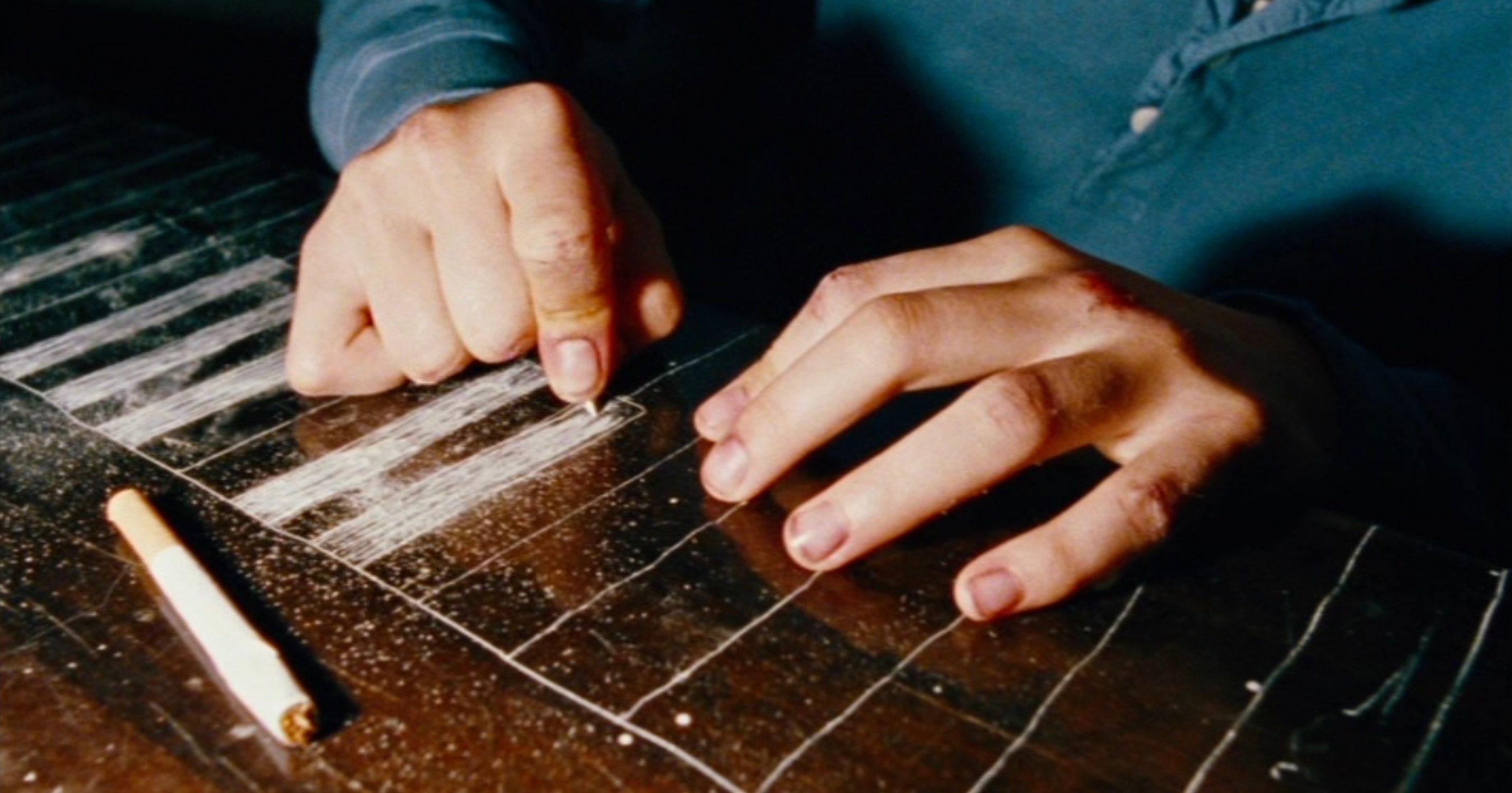 Vier Minuten - Four Minutes - Jenny malt eine Klaviertastatur - Regie: Chris Kraus - Kamera Judith Kaufmann